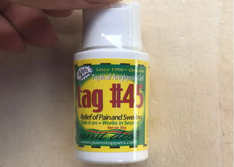 China TAG #45 Topical Anesthetic Gel Eyebrow Numbing Midway Tattooing Piercing Waxing supplier