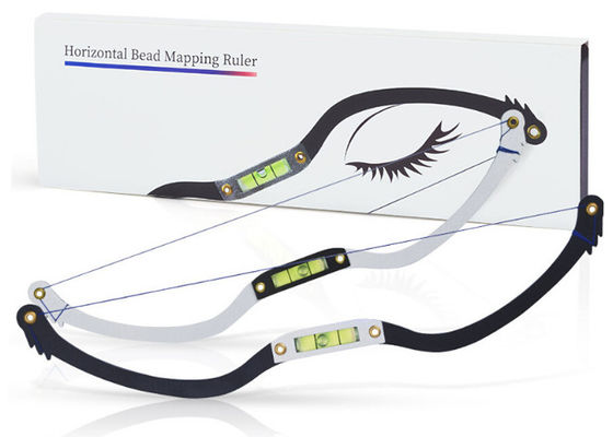 China Black Eyebrow Ruler Microblading Mapping String Marker  supplier