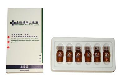 China Instant Numb Liquid Tattoo Anesthetic Cream For Embroidered Eyebrows, Lips Bleaching supplier