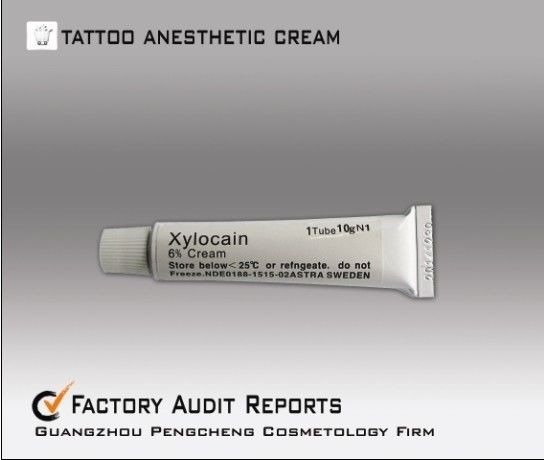 Topical painless tattoo anesthetic cream oem emla deep for Does numbing cream work for tattoos