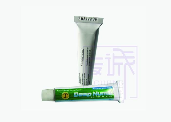 Deep numb natural pain relieving anesthetic cream for Does numbing cream work for tattoos