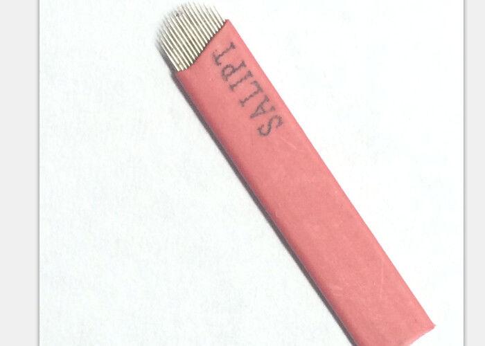 U shape 21pins permanent tattoo shading needles for makeup for Shading needle tattoo