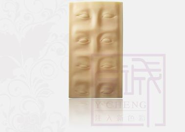 OEM Rubber Fake Tattoo Practice Skins Permanent Makeup Eyebrow Practice Sheet