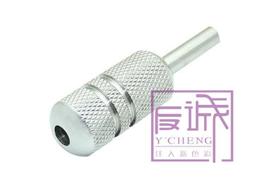 48mm Disposable Silver Stainless Steel Tattoo Grips for Tattoo Machine