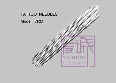 304L 13RF, 14RF, 15RF, 17RF Pre-sterilized On Bar Curve Coil Tattoo Machine Needles