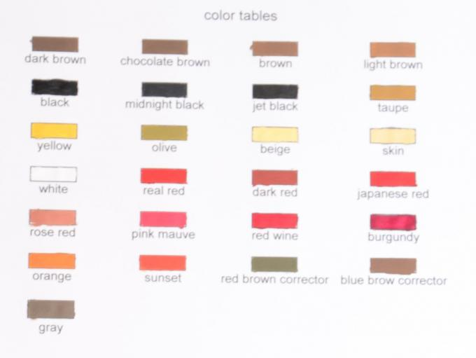 Permanent Natural Micro Pigment England Kiay For Tattoo