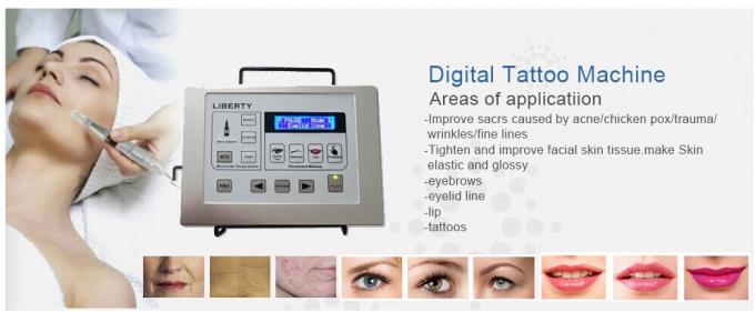Electric Permanent Makeup Machine , Taiwan Cartridge Needle Tattoo Gun